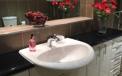 A bathroom we completed -12 years later!